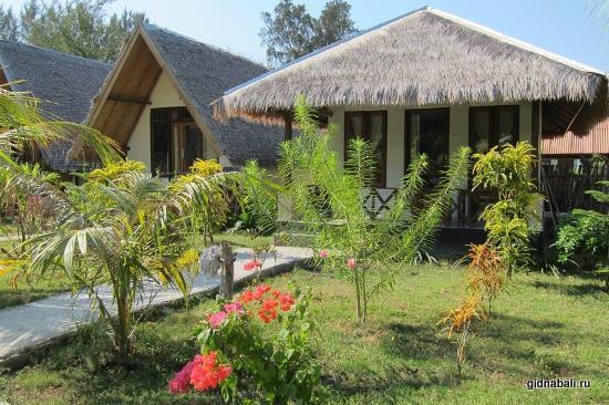 бунгало на острове Гили