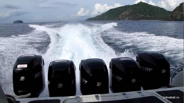 катер на Гили