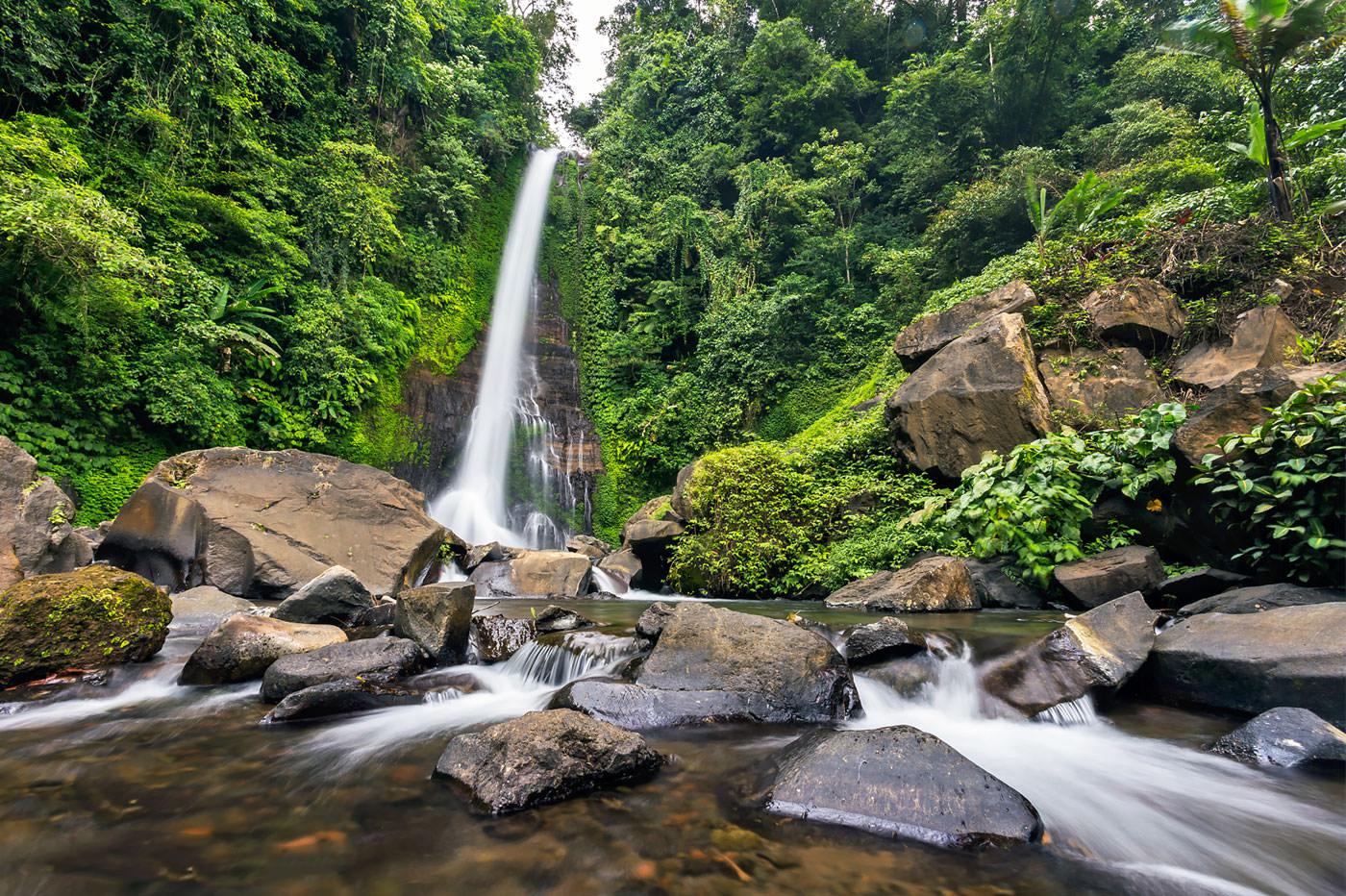 Экскурсии на Бали - Гит-Гит водопад