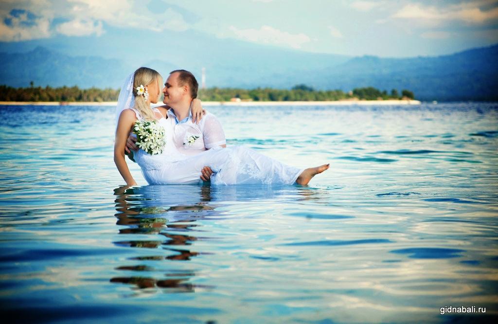 Свадебная фотосессия на островах гили