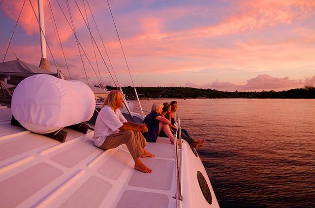 Яхты на Бали